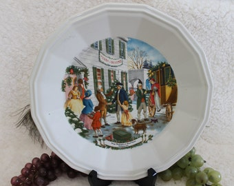 Homer Laughlin American Commemoratives Limited Edition Sargent Plate - George Washington