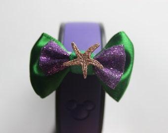 The Little Mermaid Ariel Inspired Starfish Magic Band Bow