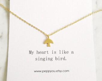 Bird Necklace, Gold Bird Necklace, Bird Jewelry, Flying Bird Necklace, Sparrow Necklace, Gold Dove Necklace, Swallow Necklace, Gold Sparrow