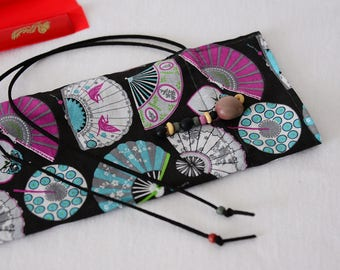 Fan bag, Bestprice, hand fan, Taichi, KungFu, handmade, birthday present, unique