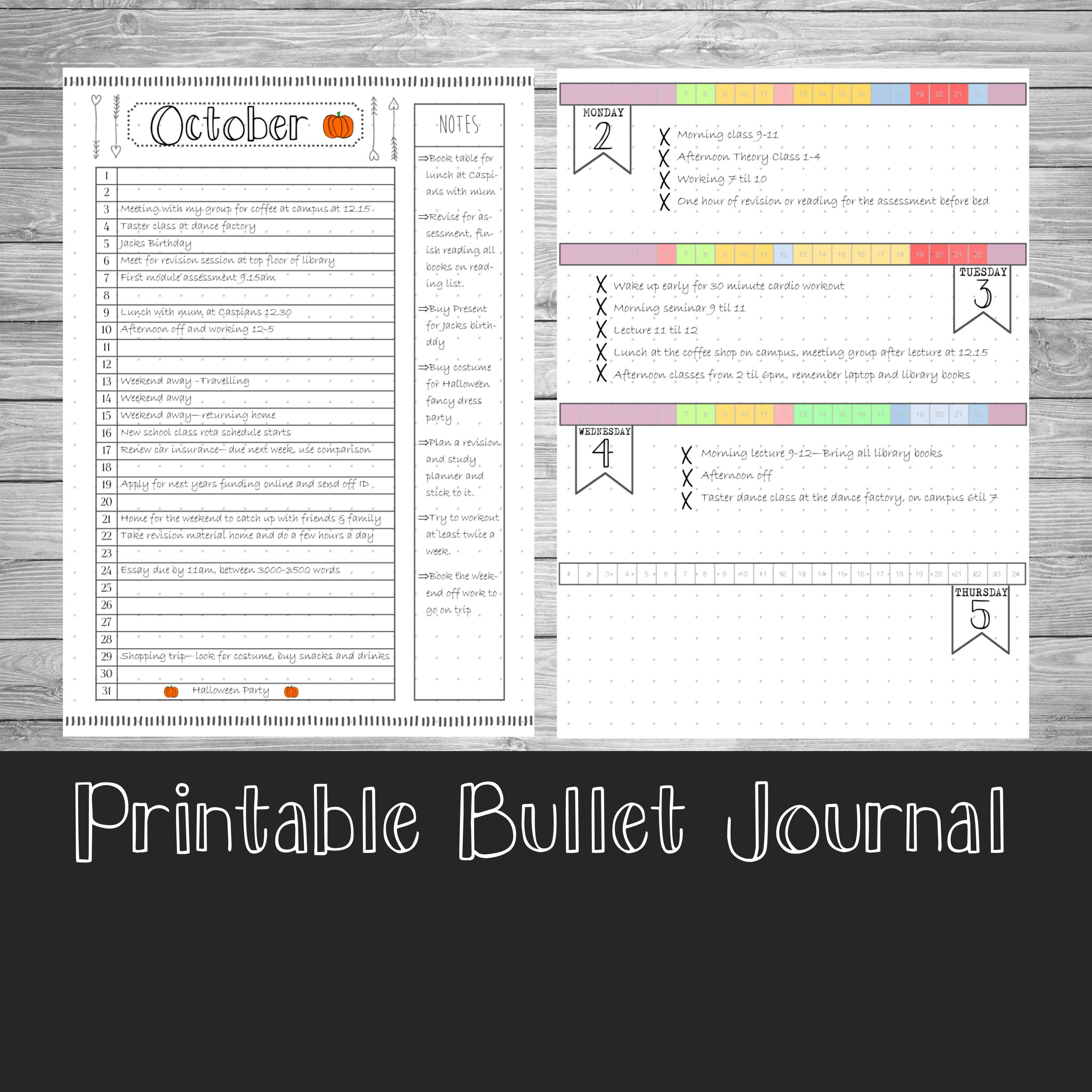 It's just a picture of Challenger Bullet Journal Template Printable