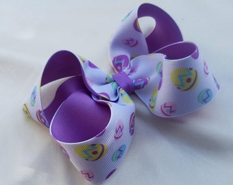 Easter bow- Boutique bow- Infant Bow