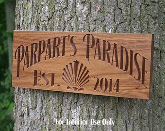 Sign For Lake House, Cabin Sign, Lakehouse Sign, Lodge Decor, Custom Lake House Signs, Benchmark Signs, Walnut JS