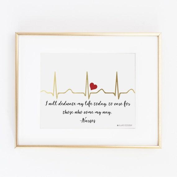 Gift For Nurse Nurse Gift Nurse Nursing Student EKG I
