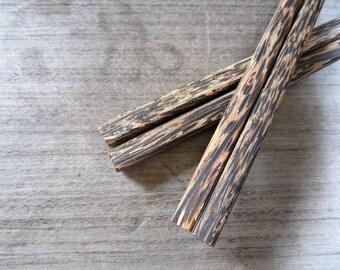 Palm Wood Chopsticks Original Plain Design & High Quality 100% Handmade