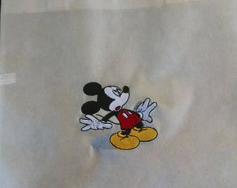 Embroidered Mickey Tote