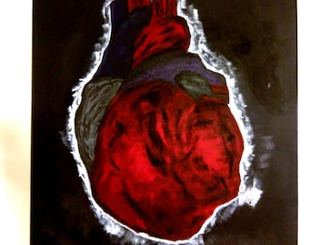 The Burning Heart of God