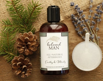 AFTERSHAVE // All-Natural Aftershave // Beloved Body Aftershave // Organic and Natural Skin Care