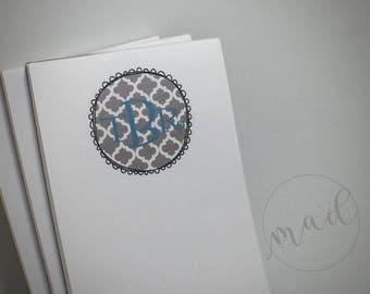 Monogram Medium Notepads Set