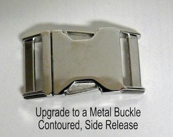 Metal Buckle Option Add On