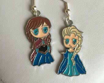 Anna, Elsa inspired Earrings