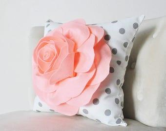 Throw Pillow   Peachy Rose   Gift Idea   Birthday   Fun Pillow   Home  Decor. More Colors