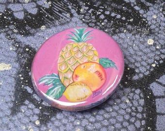 1.25in Button--Fruit--ZKC Original