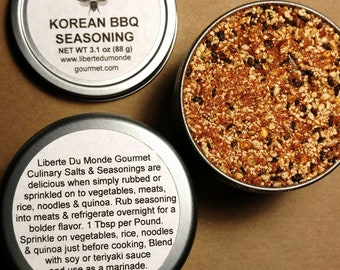 Korean BBQ Seasoning Blend