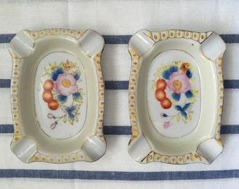 Ashtray, Japanese Hinode porcelain
