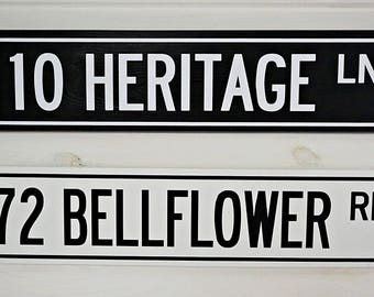 Custom Street Sign   - Great for any home! This sign makes the perfect housewarming gift!