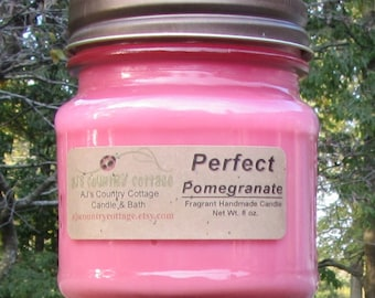 PERFECT POMEGRANATE CANDLE - Strong - Fruit - Clearance Sale - Last ones