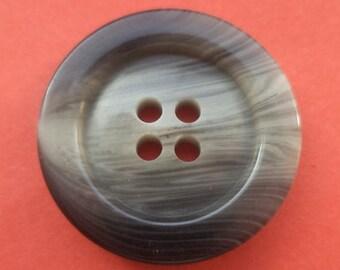8 buttons grey 23mm (4689) button