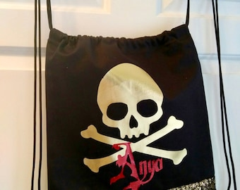 Gothic Draw String Bag