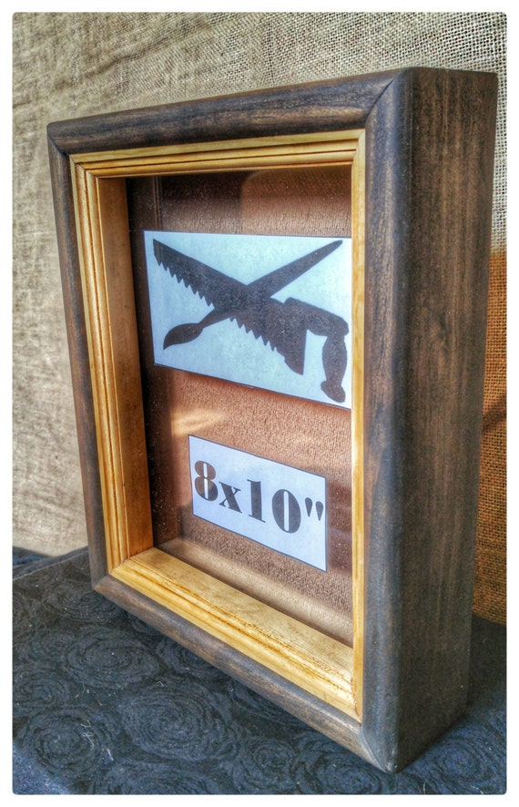 Stained Shadow Box Shadow Box Frame Square Wood Frames Wood