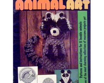 Macrame Animal Art 2