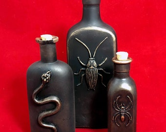 Apothecary Bottles Group F