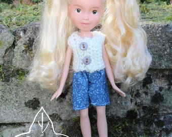 Repainted doll 128 by EvergreenDollsCo - OOAK made under rescued doll