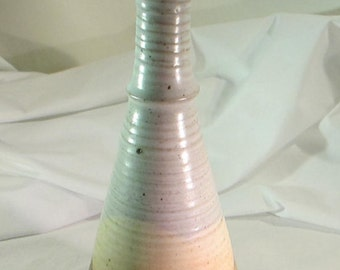 Vintage Ceramic Vase from the Trilogy Gallery, Currently Nash Gallery in Hilton Head South Carolina