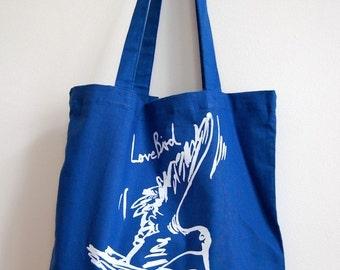 Lovebird Einkaufstasche