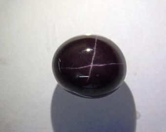 AAA Quality Genuine Gemstone Garnet Star gemstone Beautiful! Garnet Star 4 Ray Cabochon Loose Garnet Star Gemstone for Ring 25 Cts. #6091N