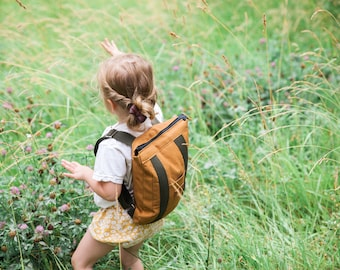 Kids Canvas Backpack - Made To Order