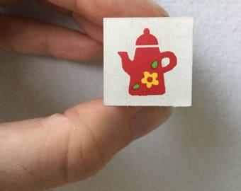 Tea Time Stamp - Kodomo no Kao