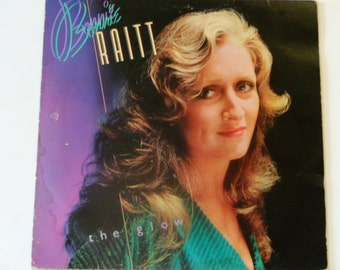 """Bonnie Raitt - The Glow - """"I Thank You"""" - """"You're Gonna Get What's Coming - Warner Brothers Records 1979 - Vintage Vinyl LP Record Album"""