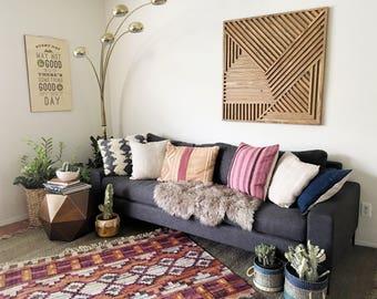 Wood Art, Wood Wall Art, Geometric Wood Art, Modern Wood Art, Geometric Wall Art, Modern Wall Art, Rustic Wood Art