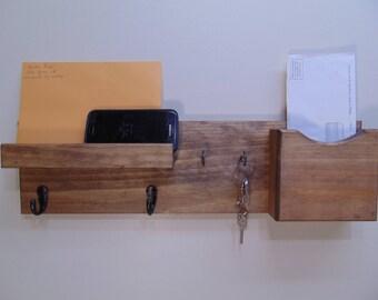Letter Holder – Key Hooks – Coat Hooks