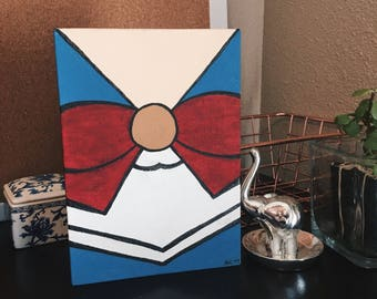 Sailor Moon Uniform Painting