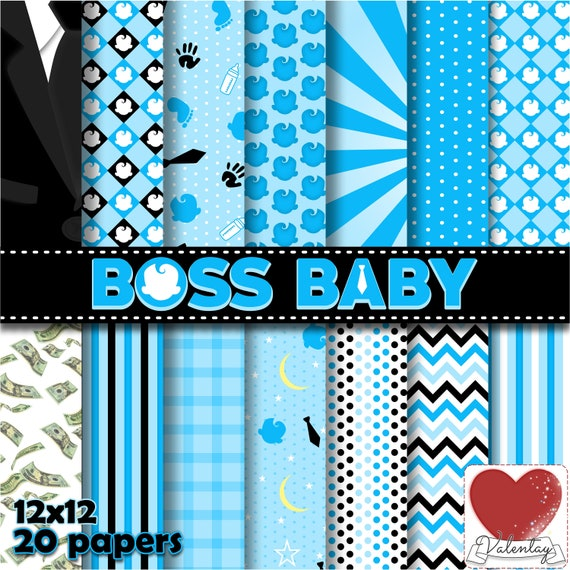 boss baby kit digital boss baby digital paper poderoso