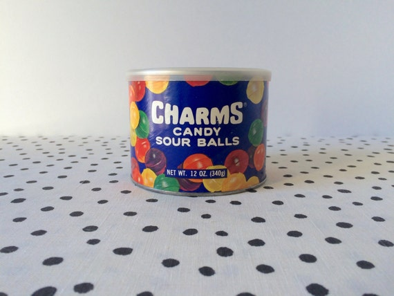Vintage Charms Candy Tin Sour Balls