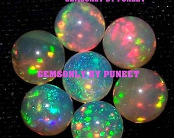12mm NATURAL ETHIOPIAN OPAL round 12mm cabochon Ethiopian opal round 12mm opal cabochon quality wholesell deal welo opal 12x12mm cabochon