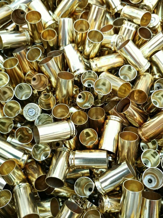 9mm Brass Casings, Cheap Brass, 9mm Luger Range Brass, 500 Empty Clean 9mm  for Reloading Bullets, Small Bullet Shells, End Cap Beads from AmmoBrass on  Etsy ...