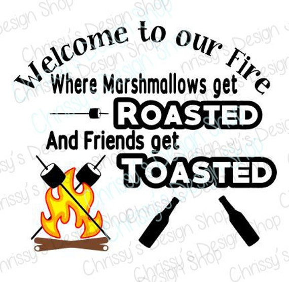 roasted marshmallows and toasted friends svg   camping svg smores clip art jpeg smores clipart free