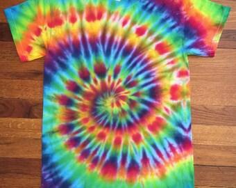 Rainbow Confetti Tie Dye T-shirt