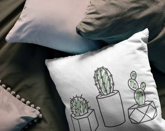 the three amigos - printed throw pillow - 3 sizes