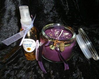 Gift Set- Any 16 oz. Soy Jar Candle and Small Mist