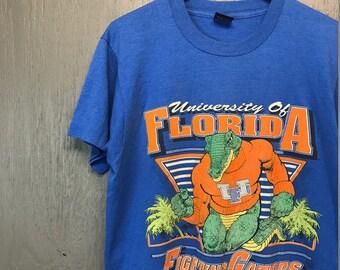 M/L vintage 80s/90s university of Florida Garltors t shirt * medium large
