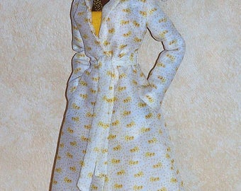 "Missy"" Ooak set for Fashion Royalty Monogram: Coat , Strapless Jumpsuit,  by L'Atelier de Rosy *One Of A Kind Couture*   SOLD"