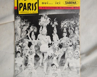 Allo Paris Magazine, October, 1958