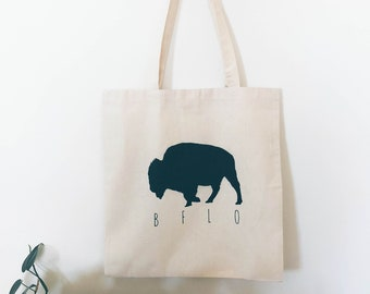 Buffalo Canvas Tote Bag - BFLO