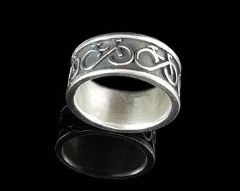 BIKE FOREVER Ring in 14KT White Gold