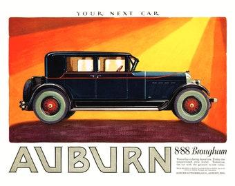 Auburn Brougham Poster